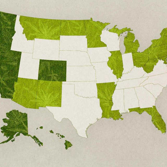 New: Marijuana Legalization Status in the USA