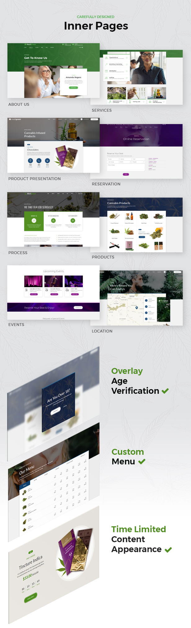 MediGreen - Medical Marijuana WordPress Theme - 6